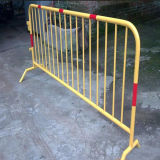 Pvc Crowd Control Barrier voor Road