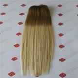 브라질 Virgin Remy 사람의 모발은 머리 씨실을 땋는다