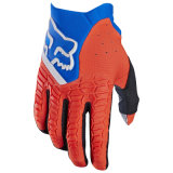 Arancio che corre i guanti del motociclo dei guanti Mx/MTB della bici di Pawtector (MAG116)