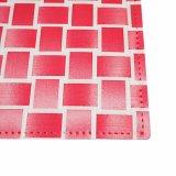 Color mezclado 100% Tablemat tejido poliester para el tablero de la mesa
