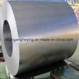 Bobina de acero galvanizada exacta de la lentejuela cero de Dx53D Z100,