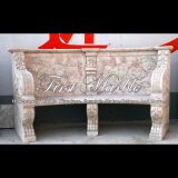 Cream Red Chair for Home Decoration Mbt-1186