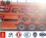 Asse 3 rimorchio basso del camion della base da 60 tonnellate
