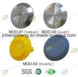 Caliente-Venta plástico reciclado antideslizante de acero inoxidable Stud táctil en piso