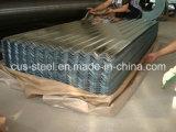 물결 모양 HDG 철 장에 의하여 직류 전기를 통하는 금속 지붕 격판덮개