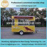 Передвижной трейлер доставки с обслуживанием еды трейлеров уступке с Ce и SGS