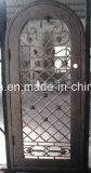 O ferro artístico trabalha portas de entrada feitas