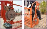 Plate-forme de fonctionnement de Zlp500/630/800/1000suspended utilisée comme gondole de construction pour le berceau actionné par échafaudage