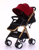 Do portador portátil do Pram do bebê do carrinho de criança do bebê de China carro com erros Foldable