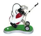 Support de crayon lecteur de modèle de chariot à golf