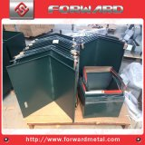 Marco de acero del hierro del metal del OEM o montaje o rectángulo o tapa o placa