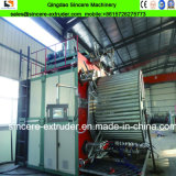 Ligne en plastique d'extrusion d'extrudeuse de production de pipe de spirale de profil de PVC de PE de HDPE