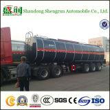 Wellen-Bitumen-Tanker-halb LKW-Schlussteil der Chemikalien-3 mit Heizgerät