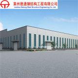 Taller prefabricado profesional de la estructura del marco de acero de China
