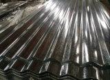 Лист толя оцинкованной волнистой стали (0.13--1.3mm) Zero блесточка