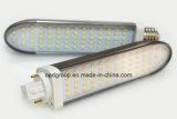 11W el G-24 LED abajo se enciende con la cubierta de 2835SMD y del claro o la cubierta helada 100-240VAC