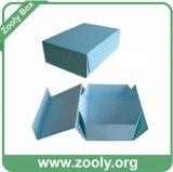 Boîte de cadeau de empaquetage de papier pliable de stockage de petit carton rigide