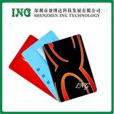 Código de barras Card Credit Card com Blank Card