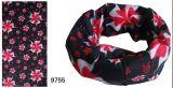 4 원색판화 꽃 디자인 유행 Headwear (YT-9093)