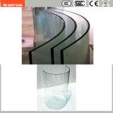 la glace de construction de sûreté de 3-19mm, glace de fil, glace feuilletante, configuration plate/a déplié la glace Tempered pour le mur/douche/partition avec SGCC/Ce&CCC&ISO