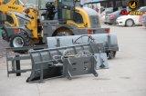 Type neuf capacité de charge du chargeur de frontal de loup de chargeur de roue 1ton pour la ferme