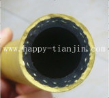 Mangueira industrial de alta pressão do fio/matéria têxtil/cabo da tela/poliéster