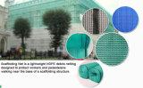 Réseau intense bon marché de saletés de construction de bâtiments d'échafaudage en plastique de sûreté