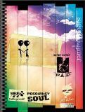 Impresión barata del cabrito del cuaderno del colorante de la escuela de la impresión agradable del cuaderno