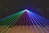 лазерные лучи DJ одушевленност полного цвета RGB освещения выставки лазера диско этапа 4W