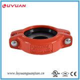 Fer malléable cannelé réduisant l'accouplement flexible FM/UL reconnu