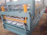 Bulidingの物質的な二重層は艶をかけた機械(XH828-840)を形作るタイルロールを