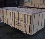 Madeira serrada Shuttering enfrentada película da madeira compensada do núcleo do Poplar de Brown (21X1220X2440mm)