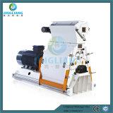 máquina de esmagamento de madeira da alimentação do moinho do triturador 1-5t e de martelo