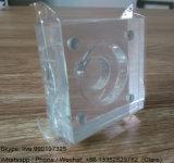 Supports acryliques transparents d'étalage de pièce de monnaie de qualité