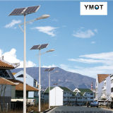 Hot-DIP galvanisierte LED-Solarlaterne des 4m Stahls Pole