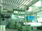 cadena de producción triple de la viga de los 2.4m de la máquina no tejida hecha girar PP del enlace
