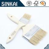 China branca Bristle Chip Brushes com Wood Handle