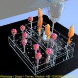 風防ガラスのアクリルのケーキの破裂音のホールダーのロリポップの陳列台
