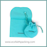 Saco personalizado do presente do Drawstring de veludo do saco do presente de veludo com Tassels