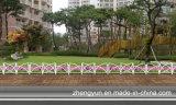 すばらしいデザイン庭の鋼鉄塀