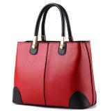 Senhora nova Bolsa do couro genuíno da forma 2016/saco de Tote das mulheres sacos de couro/saco de couro do Satchel