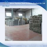 Filtre perforé en métal d'acier inoxydable pour le matériel de textile
