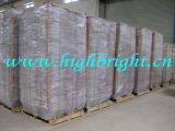 Paniers à provisions en acier de fil en métal de Supermarekt de chrome