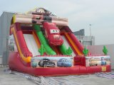 Inflatables Water Slide, Inflatable federnd Slide für Kids (B4059)