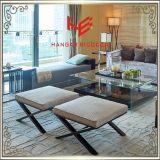 店の腰掛け(RS161803)の記憶装置の腰掛けのバースツールのクッションの屋外の家具のホテルの腰掛けの居間の腰掛けのレストランの家具のステンレス鋼の家具
