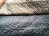 Tissu en suède 100% poli en soie pour le canapé (R062)