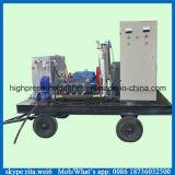 pompe à plongeur à haute pression industrielle de l'eau de nettoyeur de pipe 1000bar