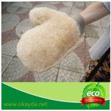 Горячая продавая перчатка мытья перчатки автомобиля чистки овчины