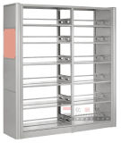 Einfach und Strong Metal Bookshelf, School Library Metal Bookshelf (DG-18)