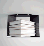 [أويسبير] 100% فولاذ بسيطة زخرفيّة كتاب جريدة مجلّة حامل قفص